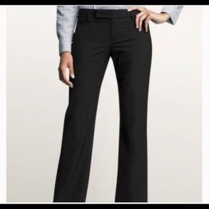 Gap Modern Boot True Black Dress Pants 8A